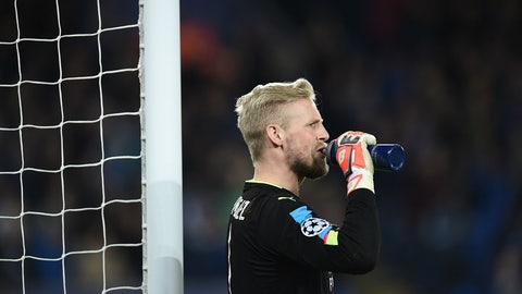 Kasper Schmeichel is still a beast
