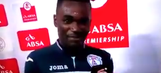 Soccer player thanks wife and girlfriend in post-match interview, probably regrets it