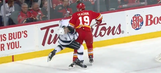 Should Matthew Tkachuk be suspended for elbowing Drew Doughty in the face?