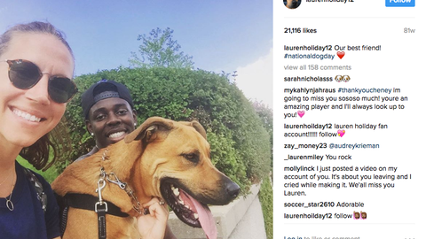 Lauren and Jrue Holiday