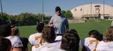 The Undertaker visits Texas Longhorns spring practice