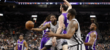 Spurs beat Kings to end two-game skid