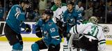 Pavelski's 2 goals lead Sharks past Stars 5-1