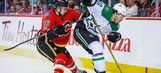 Stars cap road trip with loss to Flames