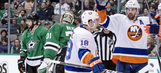 Stars give up 3 goals late in loss to Islanders
