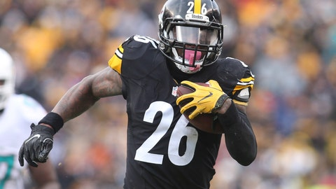 Le'Veon Bell, RB, Steelers (UFA)