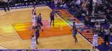 Oh no, Leandro Barbosa is the latest NBA player to celebrate a missed three
