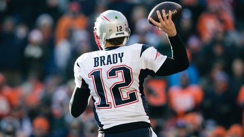 Patriots QB Tom Brady