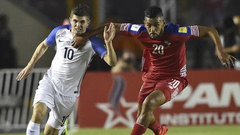 March 28: Panama 1-1 USA