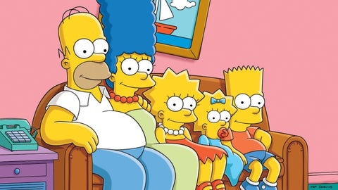 The Simpsons debuted