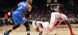 Westbrook's triple-double streak snapped in loss to Blazers