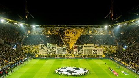 Dortmund's tifo game is still second-to-none