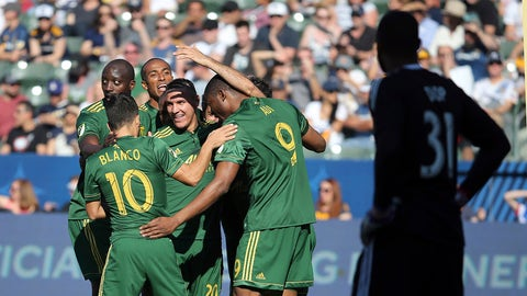 The Timbers' offseason rebuild passed its first test