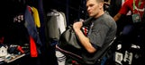 Video shows alleged thief of Tom Brady's Super Bowl jersey in Patriots locker room