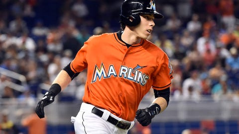 Christian Yelich (OF) -- Miami Marlins (12/5/91)