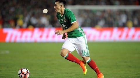 Central midfield: Hector Herrera