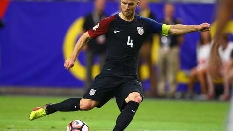 Holding midfielder: Michael Bradley