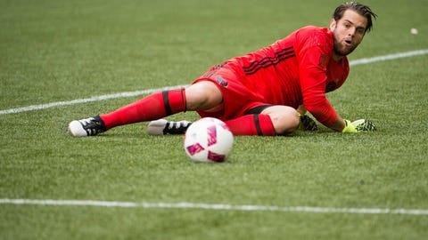 Jake Gleeson saved the match for Portland