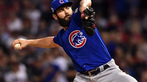Jake Arrieta -- Chicago Cubs