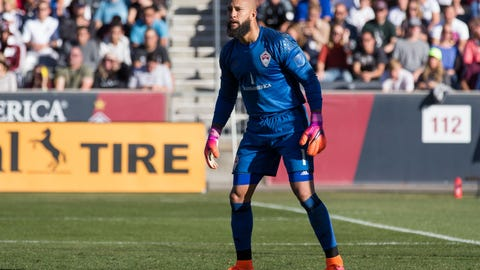 Tim Howard is back and in great form