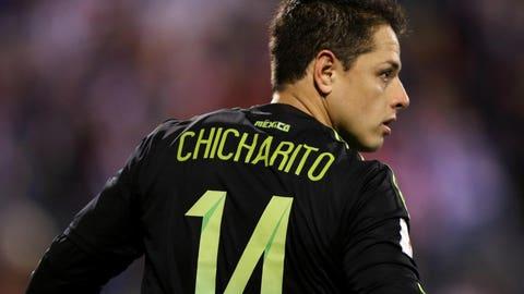 """F: Javier """"Chicharito"""" Hernandez (Bayer Leverkusen)"""