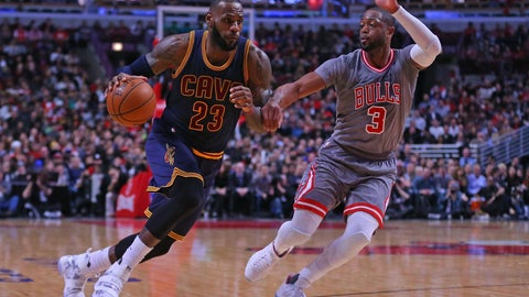 Chicago Bulls: 3/30, vs. Cleveland Cavaliers