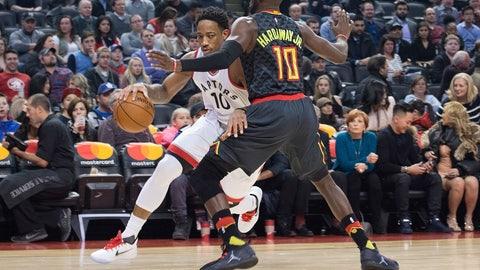 Toronto Raptors: 3/10, @ Atlanta Hawks