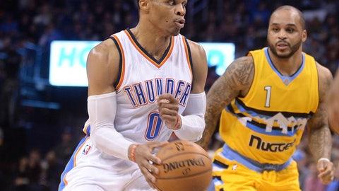 Oklahoma City Thunder: 4/12, vs. Denver Nuggets
