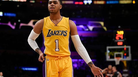 D'Angelo Russell, G, Los Angeles Lakers
