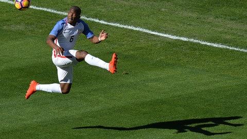 Left midfield: Darlington Nagbe