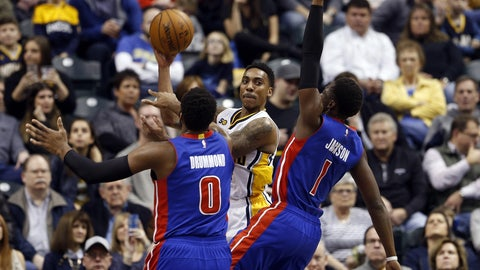 Detroit Pistons: 3/8, @ Indiana Pacers
