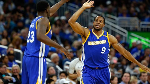 Draymond Green and Andre Iguodala are defensive geniuses