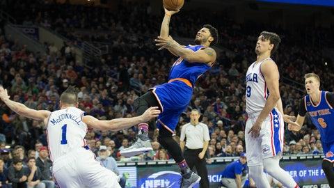 New York Knicks: 4/12, vs. Philadelphia 76ers