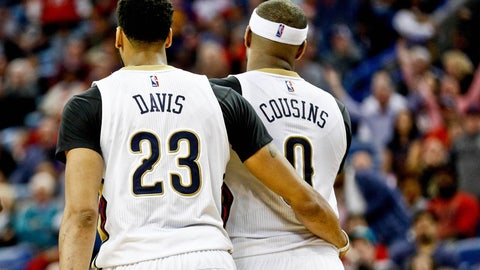 New Orleans Pelicans: 3/31, vs. Sacramento Kings