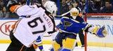 Ducks' Getzlaf, Rakell each sink one in 2-1 win over Blues