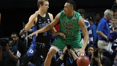Notre Dame (5) vs. Princeton (12)