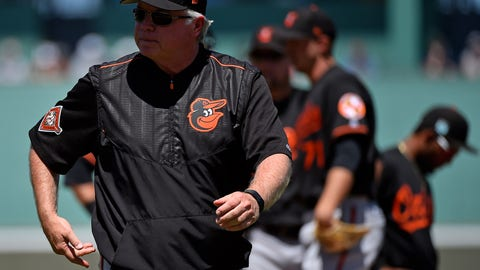 "Baltimore Orioles: ""Crab dip, right?"""