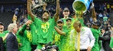 Oregon clocks Kansas to advance to first Final Four since 1939