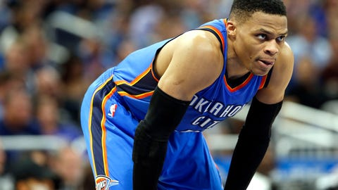 Thunder G Russell Westbrook