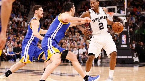 NBA Western Conference Finals Schedule: Golden State Warriors vs. San Antonio Spurs