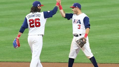 Brandon Crawford and Ian Kinsler