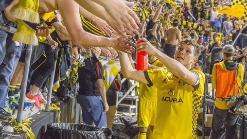 The Columbus Crew quietly move to the top