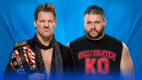 Chris Jericho (c) vs. Kevin Owens for the WWE United State Championship