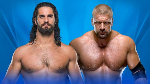 Seth Rollins vs. Triple H