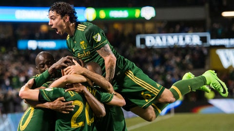 The Timbers are scary good
