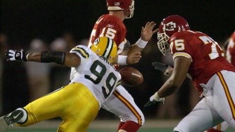 Jamal Reynolds, DE, Florida State (2001, 1st round, No. 10)