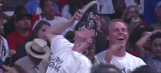 Here's why a fan chugged a beer out of his shoe at the Clippers game (probably)