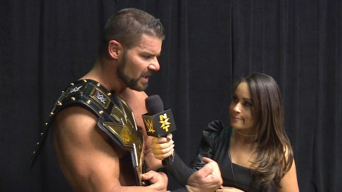 The old NXT Championship (carried by current champion Bobby Roode)