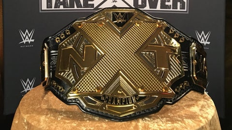 A closer look at the brand new NXT Championship