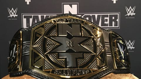 The new NXT Tag Team Championship
